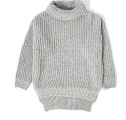 Куртка qiu dong онлайн-Цю Дон сезон серый водолазка свитер прилив мужской высокий чистый цвет свободные лацкане воротник куртка