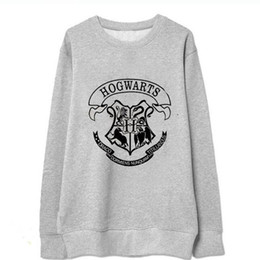 Wholesale Hoody Plus Size Women - New 2017 Women Hoody Plus Size Autumn Winter Hot Sale Sweatshirts Harry Potter Print Pillovers Coat Big Size Fat Woman Hoodies