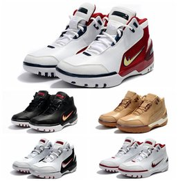 Wholesale 1st Edition - Air Zoom Generation James 1st Game Retro Mens Basketball Shoes Retros 1 Limited Edition Sale Online Lebro 1 Sport Sneaker