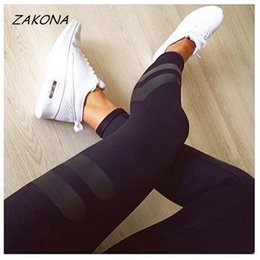 Wholesale Workouts Pants For Women - Wholesale- 2017 Spring Sporting Leggings Women's Fitness Quick Dry Skinny Pants High Waist Leggings Workout Leggings Fitness for Women