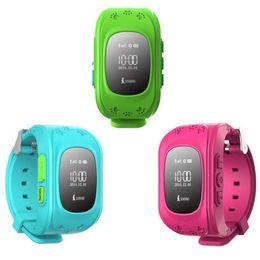 Argentina Nuevo Hot Kids GPS de seguimiento de relojes Q50 Nuevo SmartWatch Soporte SIM Voice Chat Electronic Fence SOS para ayudar a podómetro Historia Ro Suministro
