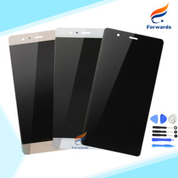 Wholesale Display Huawei - Wholesale- For Huawei P9 EVA-L09 EVA-L19 EVA-AL00 Lcd Screen Display with Touch Digitizer + Tools Assembly 5.20 inch 1 piece free shipping