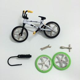 Wholesale Mini Bike Bmx Wholesale - Wholesale-2016 Excellent bmx toys alloy Finger BMX de dedo Functional kids Bicycle Finger Bike mini-finger-bmx Set Bike Fans Toy Gift