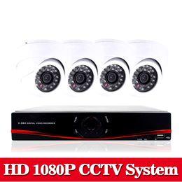 Wholesale Hdmi 8ch - NINI Home HD 1080P HDMI 8CH 1080P Security AHD DVR CCTV Kit AHD 8 Channel Dome CCTV Kits Security Camera System no HDD