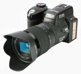 Wholesale Slr 21x - 2017 PROTAX D7300 digital cameras 33MP Professional DSLR cameras 24X Optical Zoom Telephotos& 8X Wide Angle Lens LED Spotlight Tripod
