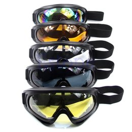 Wholesale Goggles Bag - HOT Motorcycle Dustproof Ski Snowboard Sunglasses Goggles Lens Frame Eye Glasses