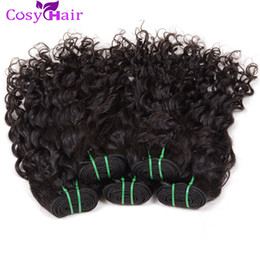 Wholesale Malaysian Water Wave Extension - Water Wave Bundles Remy Human Hair 6 Bundles Brazilian Water Wave Hair Extension 100% Virgin Brazilian Hair Weave Weft Big Curly Dyeable