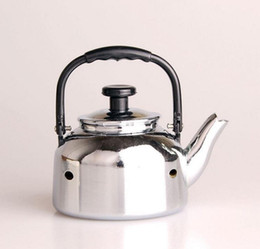 Wholesale Tea Set Diy - creative personality Metal teapot lighters Tea set household appliances butane windproof Smoking lighters DIY Kitchen Tool No gas 10pcs lot
