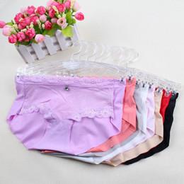 Wholesale Wholesale Large Ladies Lingerie - 2017 New Sexy Transparent Lace Panties Seamless Briefs Bragas Women Underwear Lady Underpants Lingerie Knickers large stock