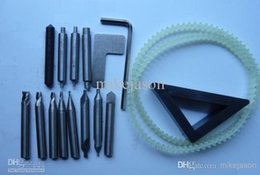 Wholesale Key Cutter Machines - Full Set End Titanized Mill Cutter For Key Cutting Machine Parts (Free Shipping!!!)