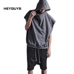 9538d9c2c31e Wholesale- 2016 new Fashionable hiphop Original tide hole loose vest men s  women s summer fashion casual leisure render tank top brand