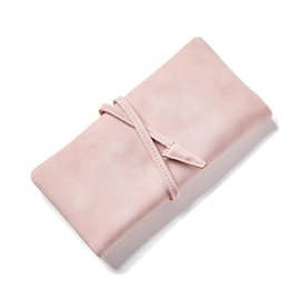 Wholesale Long Leather Key Chain - Wholesale- 2017 Brand Genuine Leather Women Wallet Long thin Purse Cowhide multiple Cards Holder Clutch bag Fashion Standard Wallet W103