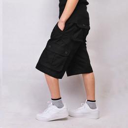 armee kleidung großhandel Rabatt Großhandels- Neue Ankunft Mens Cargo Shorts Plus Größe 30-44 Mann Army Shorts mit Multi-Pocket-Marke Kleidung