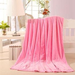 Wholesale Fabric Sofas Sale - 2016 hot sale Fleece Blanket plaid super warm soft blandets throw on Sofa Bed Plane Travel Plaids patchwork solid 120cm*200cm