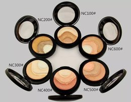 Wholesale Mineralize Skinfinish Foundation - HOT NEW MC Makeup bronzers Skinfinish Face Powder Mineralize Plus Foundation 10g High quality FREE Fedex
