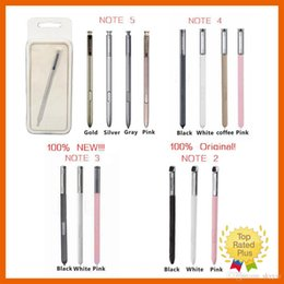 Wholesale capacitive screen gloves - New Original Stylus S Pen Capacitive Touch Screen For Universal Mobile Phone Samsung Galaxy Note 2 3 4 5