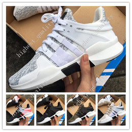 Wholesale Cheap Women Size 11 Shoes - Cheap New Mens EQT Support 97 ADV Running Shoes Fashion Running Sneakers for Men and Women Turbo Red Black White Red Size 36-45 US 5.5-11