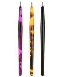 2019 penna magica uv Pennello per punteggiatura di punte per unghie in acrilico Punte acriliche per magia 3D Fai da te Smalto per unghie Gel UV Pittura magnetica con penna magnetica Strumenti per manicure sconti penna magica uv