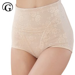 Wholesale Support Panties - Wholesale- PRAYGER Women Seamless Lace Leg Shapewear Tummy Waist Control Panties Body Shaper Girdle Support Slimming Underwear Briefs