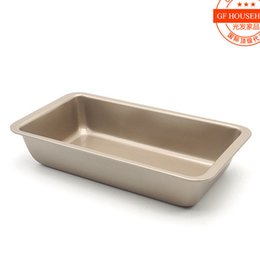 Wholesale Wholesale Bread Loaf Pans - Wholesale- 8.5-inch rectangular cake bread mold grilled chicken tray Baking Tool FDA-grade nonstick coating Baking Mold