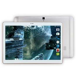Wholesale Tablette Pc Gps - Wholesale- 4G Lte Tablet Android 6.0 Octa Core 32GB ROM 5MP and Dual SIM OTG WIFI GPS bluetooth phone Tablette PC Computer