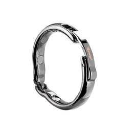 Wholesale Physiotherapy Sex - Dia 25 28 30mm for choose adjustable size Magnetic physiotherapy metal V type Circumcision erection penis cock Ring Sex Toy male