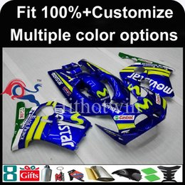 Wholesale Honda Mc19 Fairing - 23colors+8Gifts Injection mold Dark blue motorcycle cowl for HONDA CBR250RR MC19 1988-1989 88 89 MC19 88-89 ABS Plastic Fairing