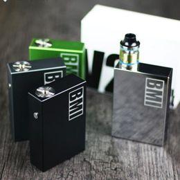 Wholesale E Health Cigarettes - Tungsten plating chrome ultrasonic nebulizer e-health lowest price e-cigarette electronic vaporizer 510 thread China wholesale box mod BMI