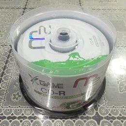 Wholesale Blank Barrel - Maxell M2 cd-r burn disc 48x 700mb barrel blank CDS 50pcs lot
