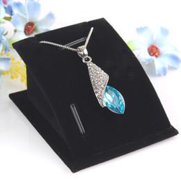 Wholesale Pc Shelf - New Mini 1 Set 10 Pcs Ring Earring Stand Necklace Holder Jewelry Drop Pendants Display Decoration Shelf Showcase Stock