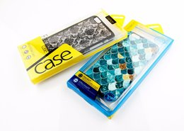 Wholesale Handbag For Mobile Phone - 200pcs free ship 2016 Retail Package PVC Plastic Packing Box Boxes For iPhone6s Mobile Phone Case