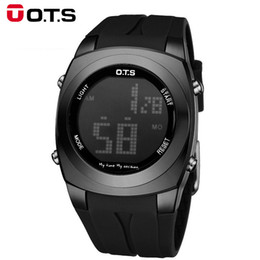 Wholesale Famous Electronics - 2017 Sport Watches Digital LED Watch Men Top Brand Luxury Famous Male Clock Electronic Digital-watch Hodinky Relogio Masculino