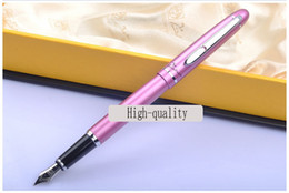Wholesale Teacher Gifts Free Shipping - Wholesale- Picasso 608 Fountain Pen business gift pen free shipping school and office Writing Supplies send teacher student friend