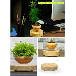 Wholesale Novelty Plant Pots - Fashionable Magnetic floating bonsai air Pot Potted Plant Novelty Levitating pot Decoration in house and office