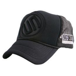 Wholesale Nets Sport Hats - Snapback mesh baseball cap outdoor summer boy girls sports hat trucker cap men net golf caps hip hop Visor women truck gorras
