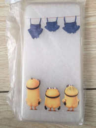Wholesale Despicable Minion Inches - Despicable me 3 minions 6 6s protector soft case iphone6 case 4.7 inches