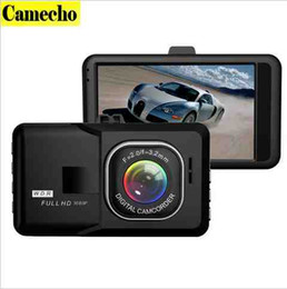 Wholesale Digital Camcorder Microphone - 2017 Newest 3.0 Inch Car Dvr Full HD 1080P DVRs Registrar Car Camera Digital Video Camcorder Parking Recorder G-Sensor Dash Cam