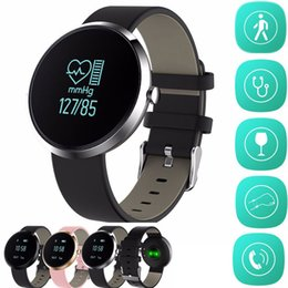 Wholesale Uses Alcohol - Blood Pressure Tracker Smartband Health Smart Band Heart Rate Alcohol Allergy Fitness Tracker Bracelet Smart Watch