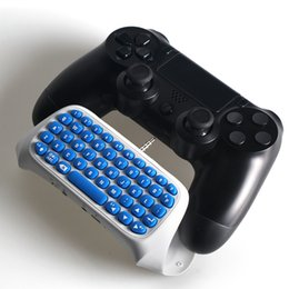 Wholesale Playstation Controller Accessories - for PS4 Accessories Message Chatpad for SONY Playstation 4 Slim Pro Controller Wireless Keyboard Joystick PS4 Slim Pro Play Station4