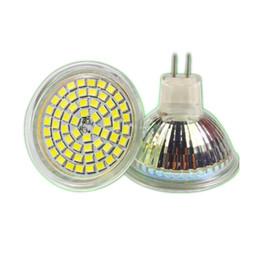 Wholesale Mr16 Mr11 - Wholesale- NEW Shenmeile 1pcs MR16 MR11 24LEDS 60LEDS 12V DC LED sportlightig led glass led bulbs 120degree