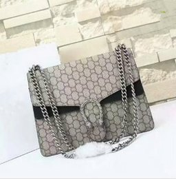 Wholesale Sequined Ladies - New stylesize 29cmGgBrand Ladies Bag Leather Womens Handbag Luxury Brand Name Womens Bag High Quality Real Leather Shoulder Bag