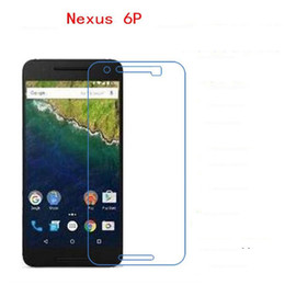 Wholesale Film Fronted Bags - For Google nexus 6 P full-screen protection soft film high-definition transparent anti-scratch PET mobile phone film with OPP bag packaging