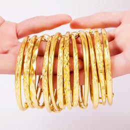 Ajustable Dubai Altın Bilezik Kadın Erkek 1 adet Altın Bilezikler Afrika Avrupa Etiyopya kızlar Takı gelin Bilezik hediye nereden