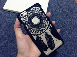 Wholesale Iphone Soft Monkey Case - Palace Flower Mobile Phone Shell Hollow Relief Soft Edge Monkey Wind Chimes Cell Phone Back Covers Protective Cases Sets