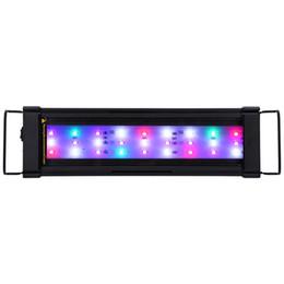 Wholesale Leds Lights Aquarium - Wholesale- Color Changeable 11W 1000LM 18PCS Leds 5730 SMD Chips AC 85 - 265V 9W 800 - 900LM 25CM LED Aquarium Light with 18 LEDs
