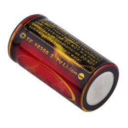 Wholesale Trustfire 3v - Trustfire 1200mAh 3.7V Li-ion lithium lion 18350 Rechargeable Battery
