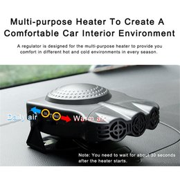 Wholesale Heater Defroster - New 150W 12V Car Heater Fan Defroster Dashboard Cigarette Socket Can quickly be heated within one minute Durable and Portable free shipping