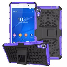 Wholesale Compact Mini Pc - Hybrid Shockproof Spiderman Duty Durable TPU PC Robot Kickstand Hard Case Cover for Sony Z2 Z3 Compact Mini Z4 Z5 compact Premium