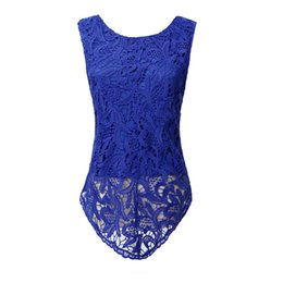 Wholesale Ladies Crochet Shorts Wholesale - Wholesale-4XL 5XL Big Size Lace T Shirt Women Crochet Clothing Mujer Casual T-Shirt Punk Blusas Ladies Summer Body Tops Tee Alien Clothes