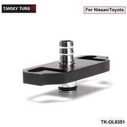 adaptador de combustible Rebajas Tansky - Adaptador de regulador de combustible 1PC para Nissan / Toyota de alta calidad TK-OL6351 (1PC), Tenga en stock, H.Q.